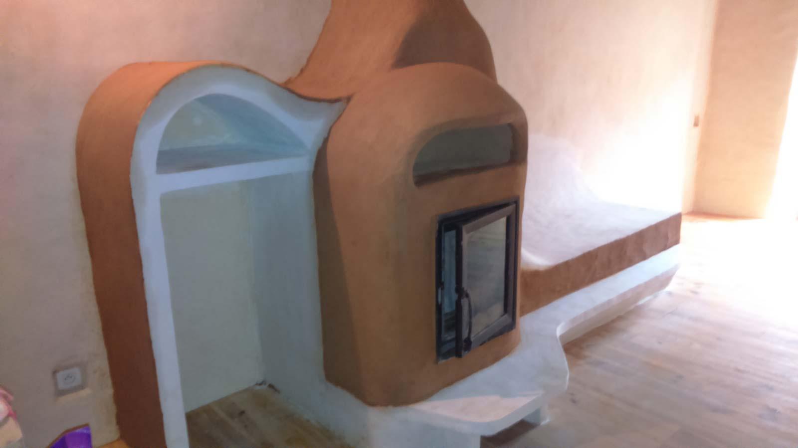 Poêle à inertie installé à Espezel dans l'Aude