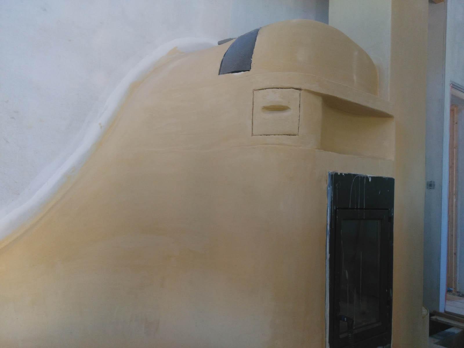 Autoconstruction accompagnée d'un poêle à inertie dans une construction neuve en Haute Garonne